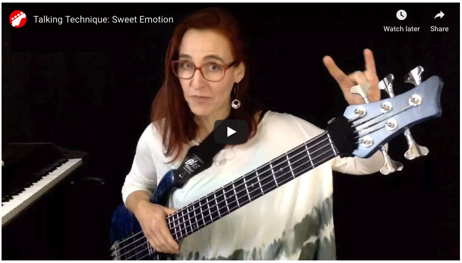 Sweet Emotion Bass Aerosmith